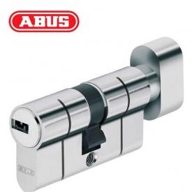 Цилиндр ABUS KD6 PS 80 мм 40х40Т ключ-вороток никель матовый