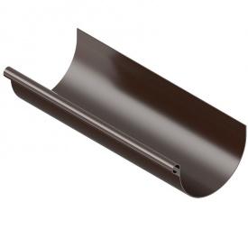 Желоб водосточный INES 120 мм 3м коричневый