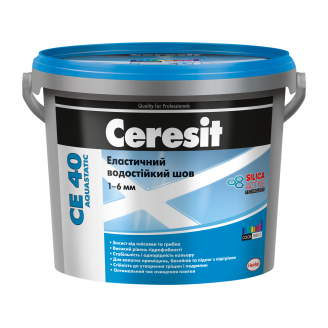 Затирка для швів Ceresit СЕ 40 Aquastatic 2 кг сиена