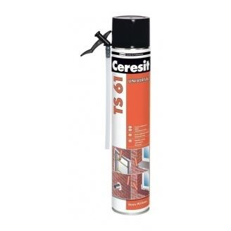 Универсальная монтажная пена Ceresit TS 61 750 мл (626504)