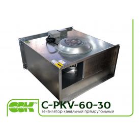 Вентилятор C-PKV-60-30-4-380 канальный прямоугольный