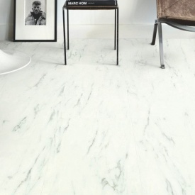 Винил Quick-Step Ambient Click Plus AMCP40136 Marble Carrara White