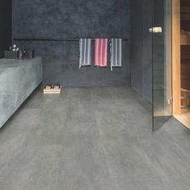 Винил Quick-Step Ambient Click AMCL40051 Dark grey concrete