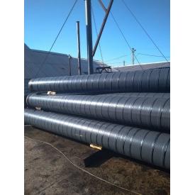 Труба в ВУС гідроізоляції полімерно-бітумна ізоляція холодного типу нанесення Интейп 530 мм