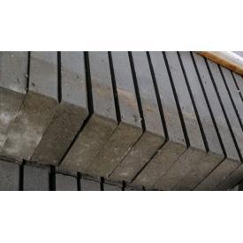 Тротуарный бордюр 500x200x60 мм серый
