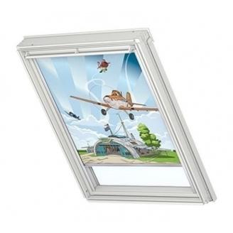 Затемняющая штора VELUX Disney Planes 1 DKL Р08 94х140 см (4620)