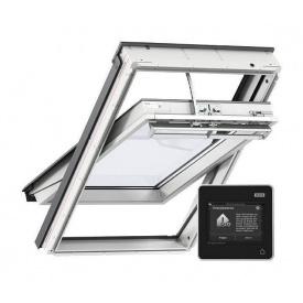 Мансардное окно VELUX Премиум INTEGRA GGU 006621 CK04 влагостойкое электро управляемое 550х980 мм