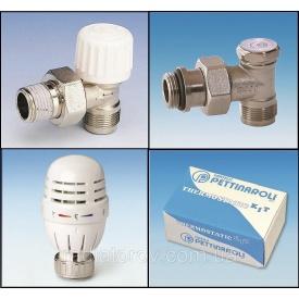 Комплект для подключения радиатора 1/2'' Pettinaroli под металлопластик