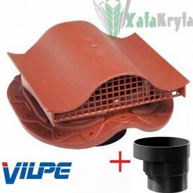 Кровельный вентиль VILPE MUOTOKATE - KTV с адаптером