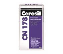 Легковирівнювальна стяжка Ceresit CN 178 25 кг