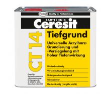 Грунтовка глубокопроникающая Ceresit CT 14 5 л