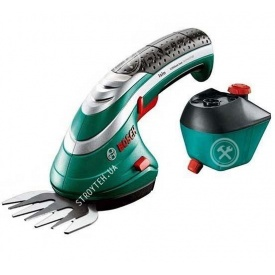 Ножницы для травы аккумуляторные + насадка-распылитель Bosch ISIO (STB155)