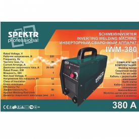 Сварочный инвертор Spektr IWM-380 (STB275)