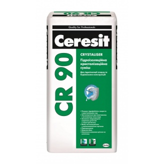 Гидроизоляционная смесь Ceresit CR 90 Crystaliser 25 кг