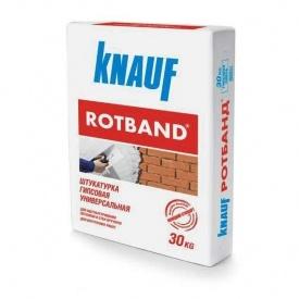 Штукатурка гіпсова Knauf Rotband 30 кг біла