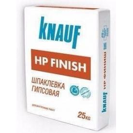 Шпаклевка тонкослойная гипсовая Knauf НР Финиш 25 кг