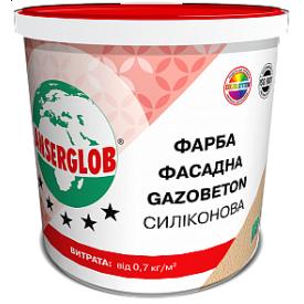 Краска фасадная Anserglob Gazobeton силиконовая 28 кг