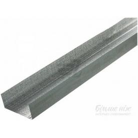 Профиль для гипсокартона стеновой UW 50 3 м 0,45 мм сталь