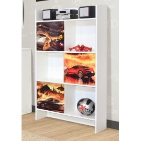 шкаф книжный Мульти Мир Мебели
