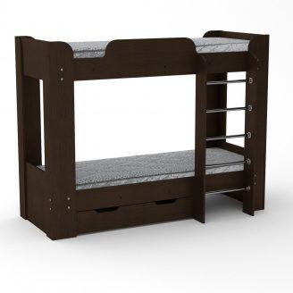 Двох'ярусне ліжко Компанит Твікс-2 77х152х210 венге