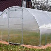 """Теплиця """"Садовод Еліт 40"""" 300х1000х200см + стільниковий полікарбонат 8 мм"""