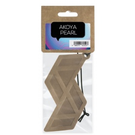 Кожаный ароматизатор для автомобиля ACappella Жемчужина Акоя цитрусово-древесный (5060574613223)