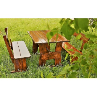 Комплект меблів середній дерев'яний 1200х800 мм