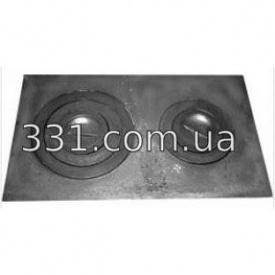Плита двухконфорочная Импекс Групп 590х350 ДР (IMPA260)