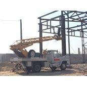Послуги телескопічної автовишки АП-18 200 кг 18 м