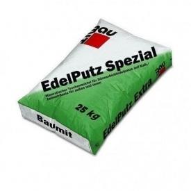 Мінеральна штукатурка Бауміт ЕдельПутц Шпеціал 2К баранець 25 кг