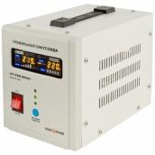 Джерело безперебійного живлення ДБЖ UPS LogicPower LPY-PSW-800VA (LP4153)