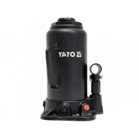 Домкрат гидравлический столбик YATO 15 т 230-462 мм