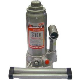 Домкрат гидравлический MTX MASTER бутылочный 3 т 194–372 мм