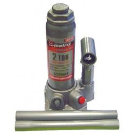 Домкрат гідравлічний пляшковий MTX MASTER 2 т 181-345 мм в пласт Кейсі