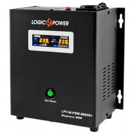 Источник бесперебойного питания Logicpower LPY-W-PSW-800VA 560Вт 5A/15A с правильной синусоидой 12В