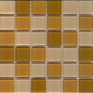 Мозаїка VIVACER мікс прозоре скло 2,5х2,5 CMmix01 30х30 см