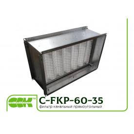 Воздушный фильтр для канальной вентиляции C-FKP-60-35-G4-panel