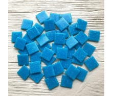 Скляна мозаїка Eco-Mosaic 20х20 мм 33х33 см синя (DA304)