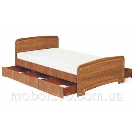 Кровать Абсолют Мебель К-140С 3Я Классика ДСП 140х200