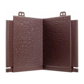 Угол добора для откоса Альта-Профиль 160х190 мм коричневый