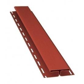 H-профиль Bryza 85 мм 3 м красный