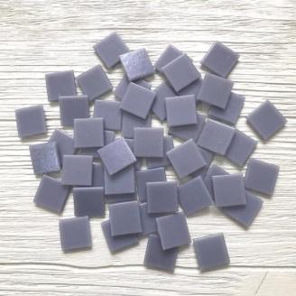 Скляна мозаїка Eco-Mosaic 20х20 мм 33х33 см сіра (NA202)