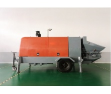 Электрический бетононасос LV-HBT-40/14 ES 45 м3/ч