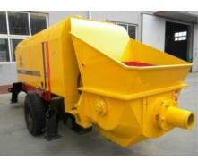 Электрический бетононасос HBT50S-12-55 50 м3/ч