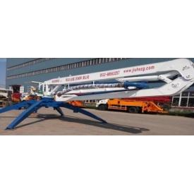 Мобильная бетонораздаточная гидравлическая стрела HGY 17 17 м 360 градусов