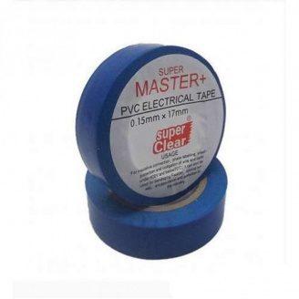 Изолента ПВХ синяя 17х0,13мм 11м Master