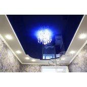 Натяжной потолок глянцевый 0,17 мм синий