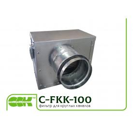 Фильтр для круглой канальной вентиляции C-FKK-100