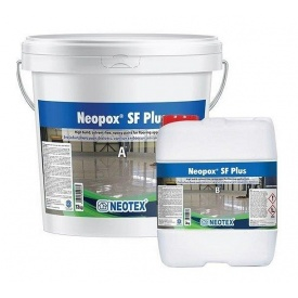 Эпоксидное покрытие для полов Neotex Neopox SF Plus A+B RAL 7047 16 кг