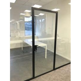 Стеклянная Дверь с закрытыми петлями 10 мм ESG